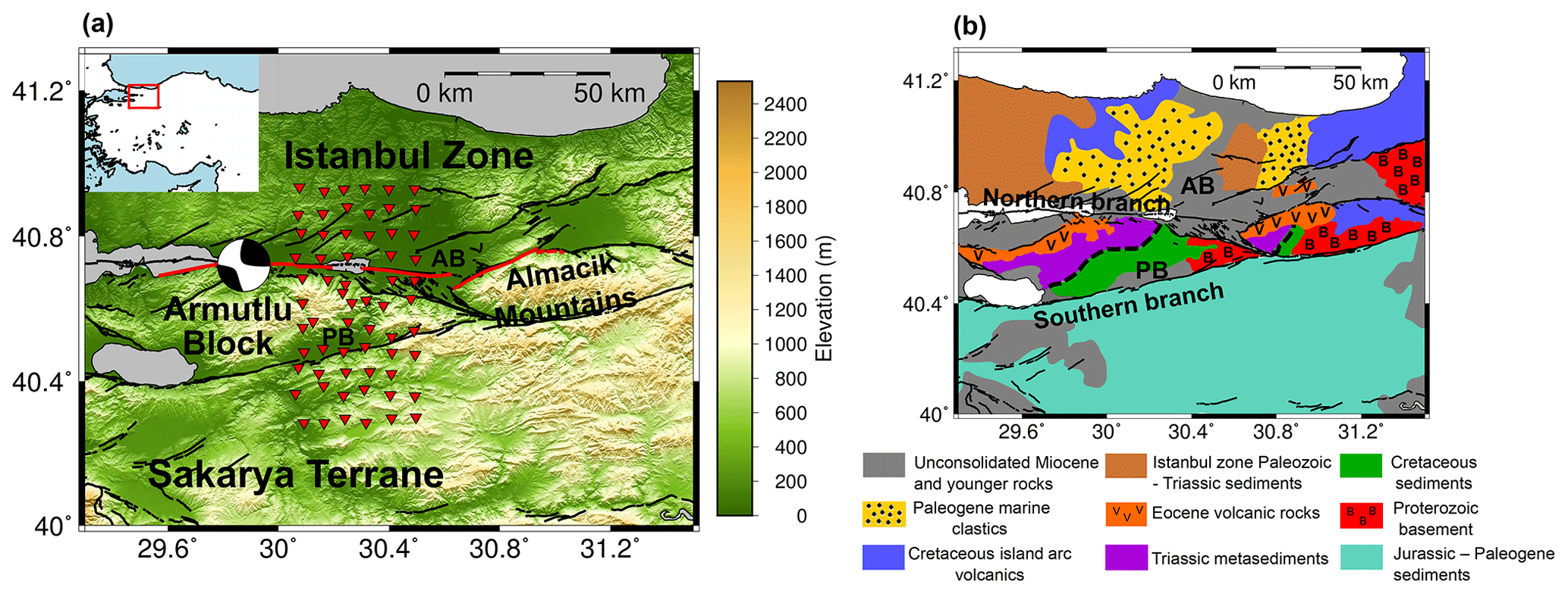 SE - Near-surface structure of the North Anatolian Fault
