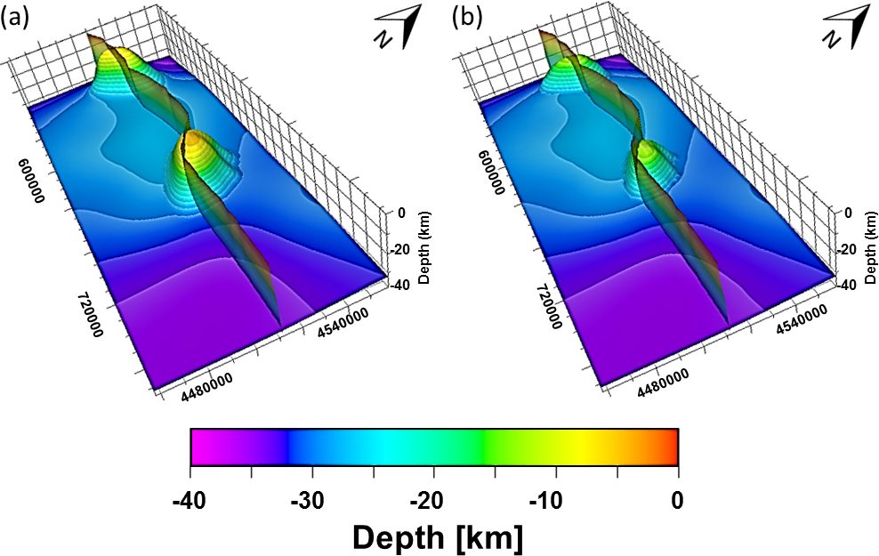 SE - 3-D crustal density model of the Sea of Marmara