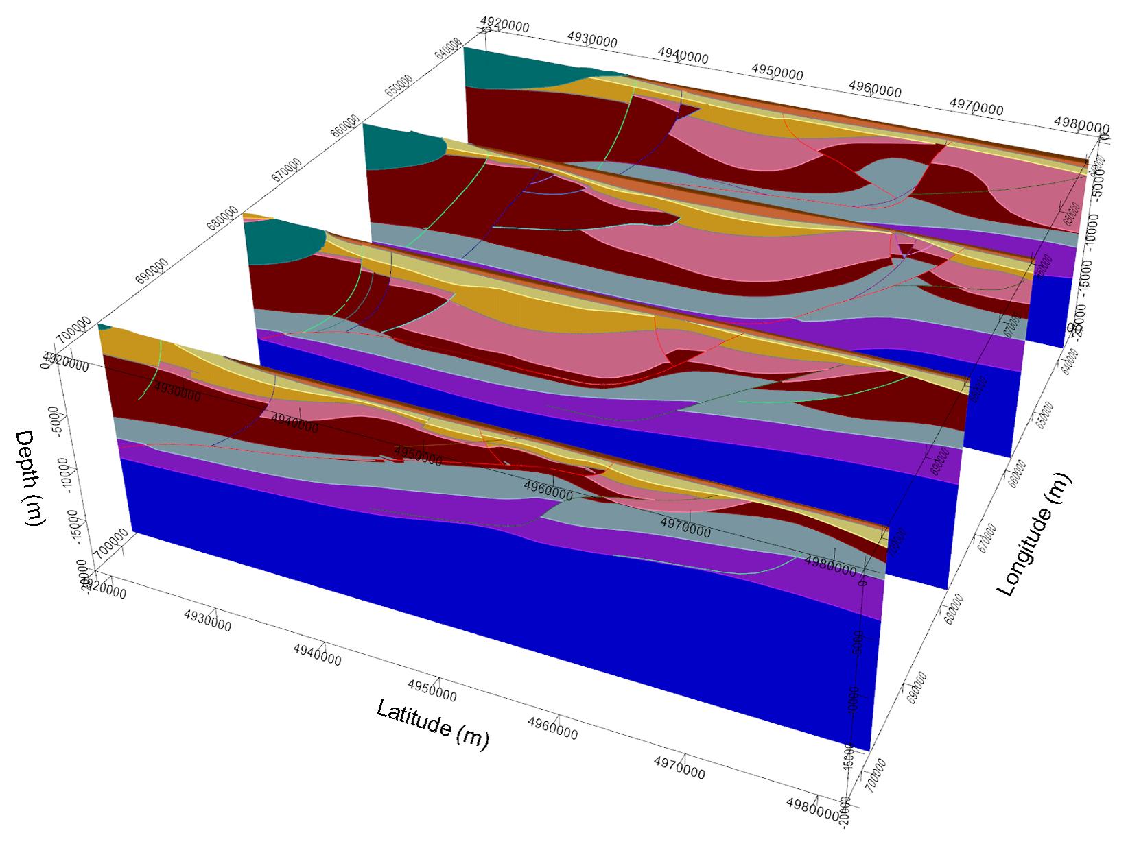 SE - ER3D: a structural and geophysical 3-D model of central Emilia
